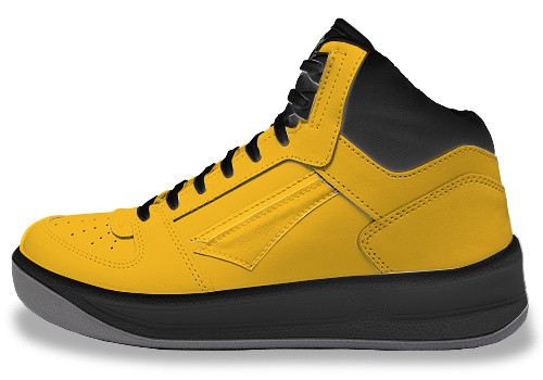 black and yelow