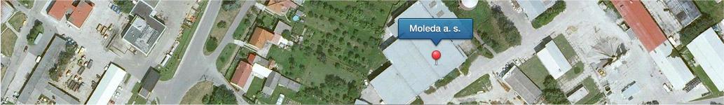 Moleda a. s. na mapě