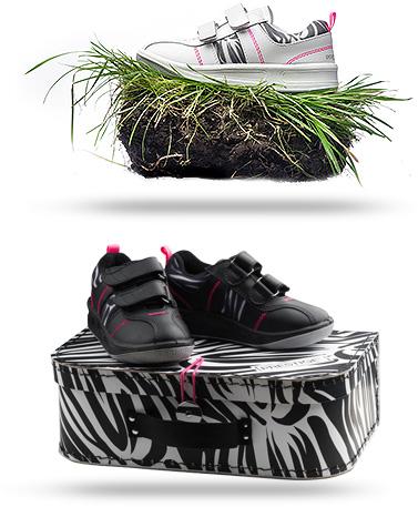 Dětská obuv Prestige Zebra